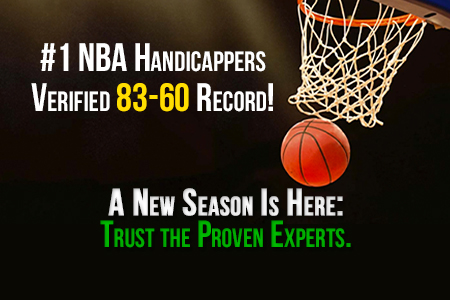 #1 Ranked NBA Handicappers: Get Your Winners Now!