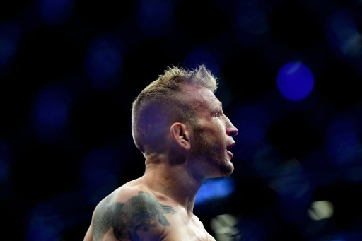 TJ Dillashaw in New York City.   Sarah Stier/Getty Images/AFP