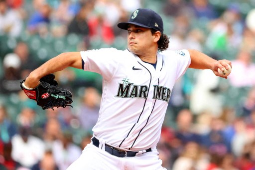 Marco Gonzales #7 of the Seattle Mariners. Abbie Parr/Getty Images/AFP